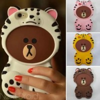 CASING CASE HP VIVO V5 PLUS V5+ SILIKON 3D SERIES BONEKA TIGER