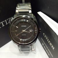 Citizen J810 Full Black jam tangan Citizen Original asli