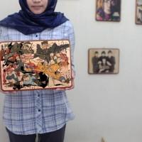 Seni Kayu Kekinian Foto transfer kayu tema Anime - wooden photo uk. 8R