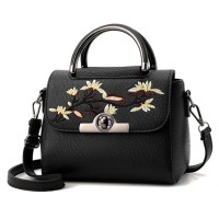 Tas Kerja Wanita Modern dan Elegan Import - TP7121 Black