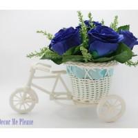 Buket Bunga Artifisial / Sepeda Bunga / Dekorasi / Flower / Vas /DM160