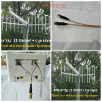 Antena Penguat Sinyal Yagi 21 el Huawei Bolt XL Home B310S B310 B315 H