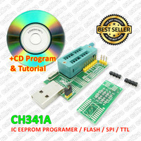 IC programer EEPROM Flash BIOS USB Programmer CH341A, IC Flash program