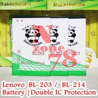 Baterai Lenovo A369 A369i BL203 BL-203 BL 203 Double IC Protection