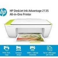 Printer- Scanner- Copier HP DeskJet Ink Advantage 2135 All-in-One