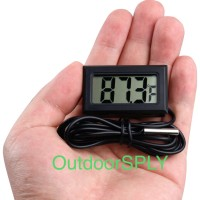 Digital Thermometer with Probe for Aquarium Thermometer LCD HT 1