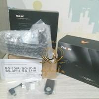 Travor Baterai / Battery Grip Camera Sony Alpha A6000 A6300 Remote IR