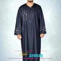 Jual Jubah Gamis Alham Damman Biru Pria Bandung Murah