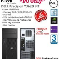 DELL T3620 MT Xeon E3-1270v6 New Spec PC ONLY
