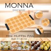 Jual Mini Muffin Pan 24 Cups Monna Bakeware - Cetakan Cupcake Murah
