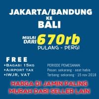 TIKET PESAWAT MURAH JAKARTA -BALI PROMO