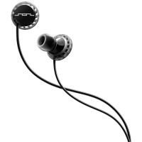 Sol Republic - Relay Sports 3-Button Earphone - Black