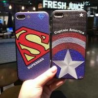 Dijual Hardcase/Case Gambar Motif Captain America & Superman Ipone 7