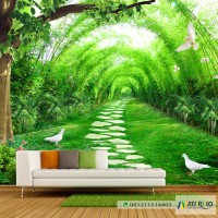 Wallpaper Custom Murah-Wallsticker
