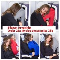 Orisinil Smart Travel Pillow Bantal Travel tiup multiguna