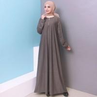 Baju Gamis Wanita Gamis Jumbo Polos L - XXXL Bahan Misty 9621
