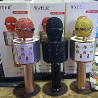 Wireless Microphone Portable HIFI Speaker WS858 WS-858 WS 858