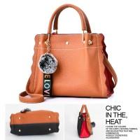 Tas Fashion Wanita Untuk Hangout/Kerja/Kantor - TP7486 Orange