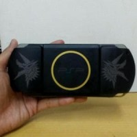 psp slim 3000 black monster hunter limited edition Murah