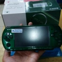 psp slim 3000 hijau Refurbished 8gb full game Murah