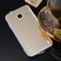 CASING HP SARUNG HARD MIRROR SAMSUNG GALAXY J1 MINI SILICON CERMIN