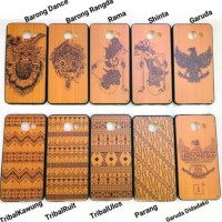 CASING HP SARUNG SAMSUNG GALAXY V ACE 4 SOFT COVER KAYU WOOD BATIK