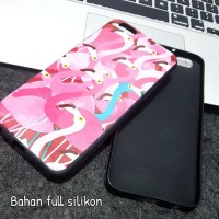 CASING HP SARUNG FLAMINGO VIVO V5 V5S LITE V7 PLUS HARD SILIKON COVER