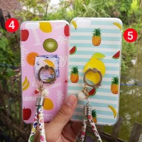 CASING HP SARUNG +RING SAMSUNG J2 PRIME FRUIT SILIKON 3 IN 1 HARD