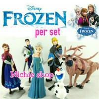 Figure Frozen 6pcs