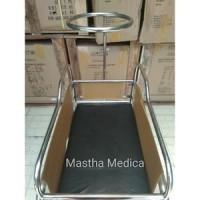Box Bayi / Tempat Tidur Bayi Keranjang Bayi Stainless Steel