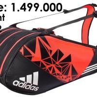 Tas Badminton Bulutangkis/Adidas NEW Wucht P7 Isi 12 Raket/ORIGINAL