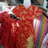 DRESS WANITA BAJU GROSIR Dress Cheongsam Shanghai Imlek Katun