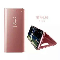 Clear view standing cover samsung galaxy J730 J7Pro J7 Pro 2017