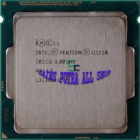 dual core g3220 processor dual core g3220 tray + fan ori 1150