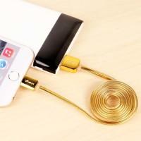 VIVAN ML100 GOLD UNTUK KABEL CHARGER DAN KABEL DATA IPHONE 5/6