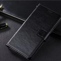 CASING LEATHER FLIP COVER WALLET CASE SAMSUNG GALAXY NOTE 2/N7100