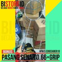 Raket Badminton Bulutangkis Apacs Edgesaber 10 Original