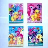 Buku Mewarnai Mini + Sticker My Little Pony Coloring Book Kecil dpt 4