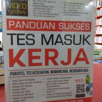 Buku Panduan Sukses Tes Masuk Kerja + Cd Arie Wibowo Genta Ori