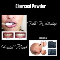 Activated Charcoal Powder - Facial Mask and Teeth Whitening