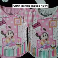 harga Cb61 Minnie Mouse 4914 Kaos Baby Bayi Perempuan Printing Murah Kado Tokopedia.com