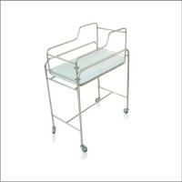 Baby Trolly Stainless Steel with Matras Onemed