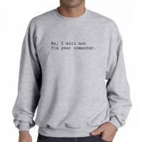 Sweater No I Will Not Fix Your Computer