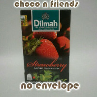 Teh Dilmah No Envelope 20 sachet Strawberry