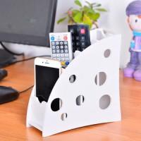 Jual Rak penyimpanan organizer warna putih Tempat remote AC , TV , HP - KTR Murah