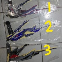 Striping lis&Stiker Body&Stiker Motor TIger Revo