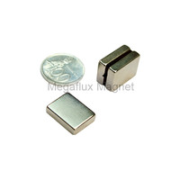 kotak 20 mm x 15 mm x 5 mm, Magnet Neodymium, super kuat