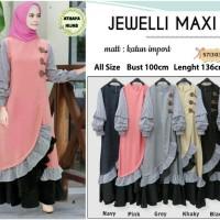 jewelli maxi dress muslim by Athaya Hijab