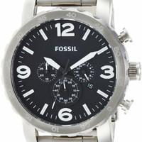 Jam Tangan Pria Merk Fossil Nate Chronograph Type Jr1353