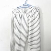 Celana Kulot Panjang Motif Garis | Cullote Pants